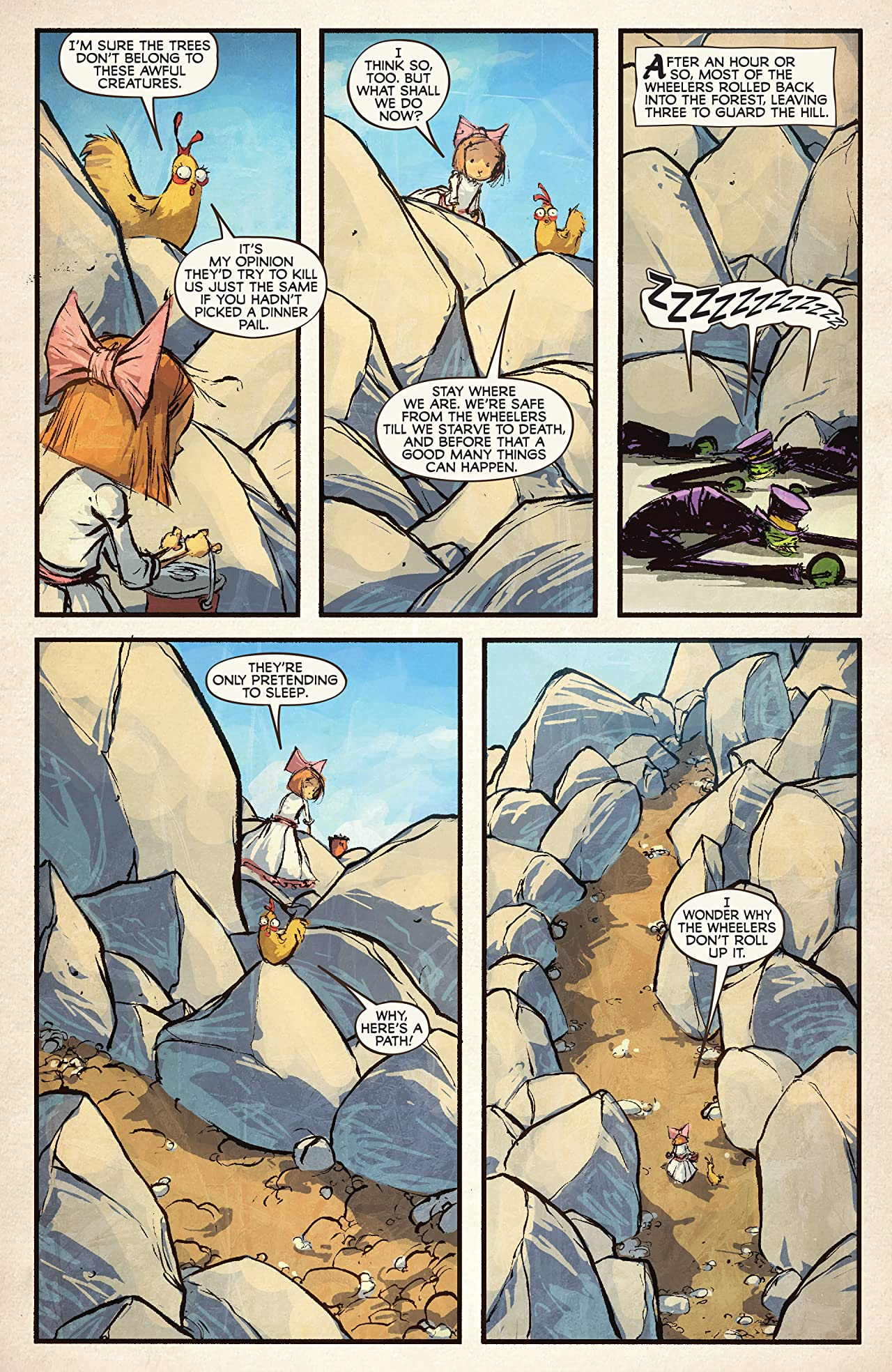 Ozma of Oz (2010-2011) #2 (of 8)