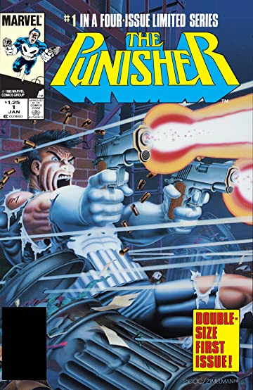 The Punisher (1986) #1 (of 5)