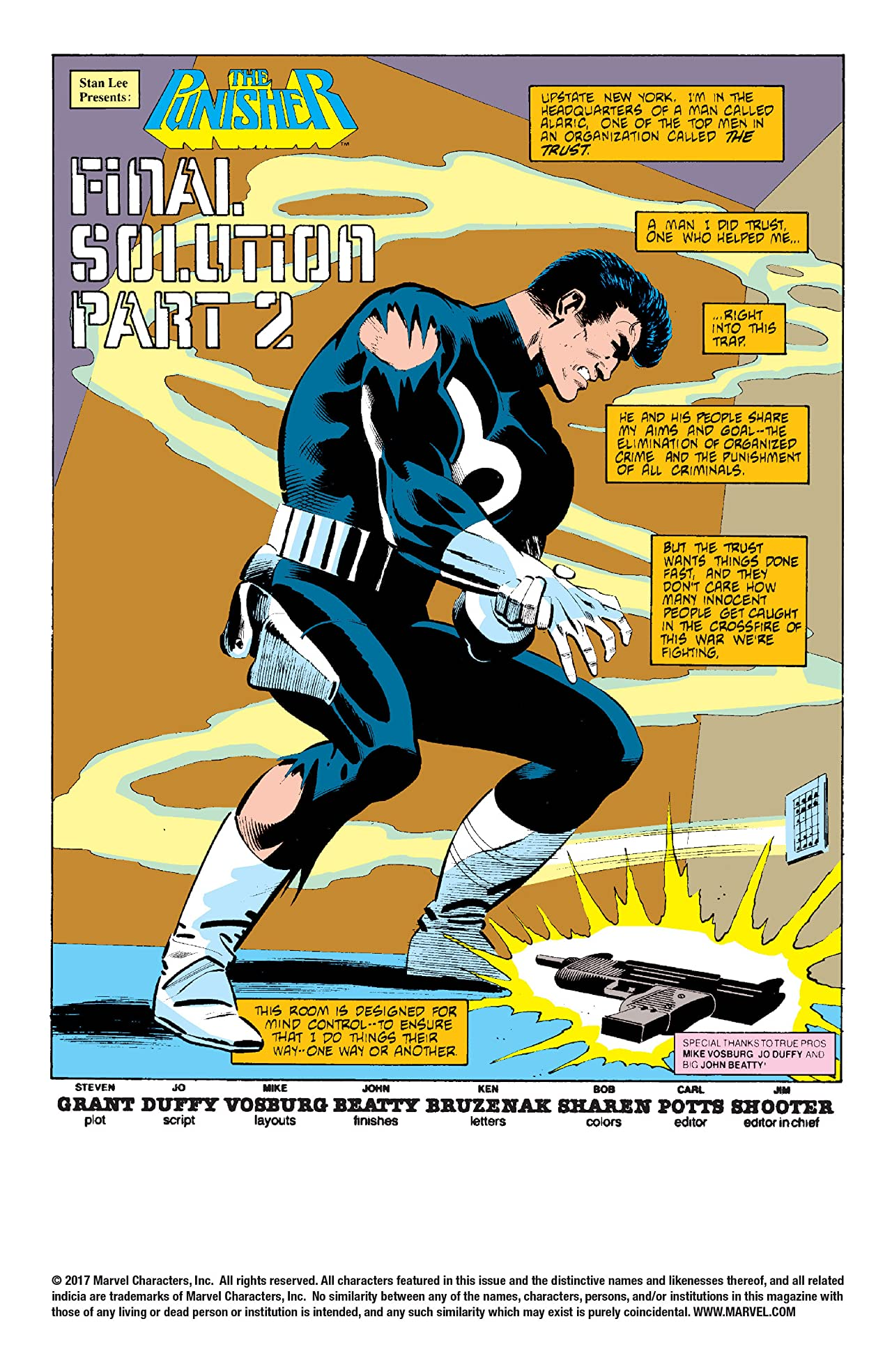 The Punisher (1986) #5 (of 5)
