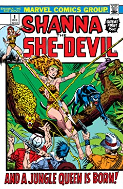 Shanna, The She-Devil (1972-1973) #1