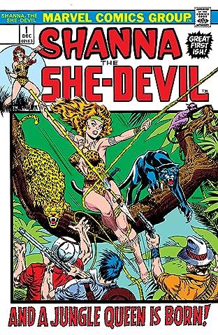 Shanna, The She-Devil (1972-1973) #1