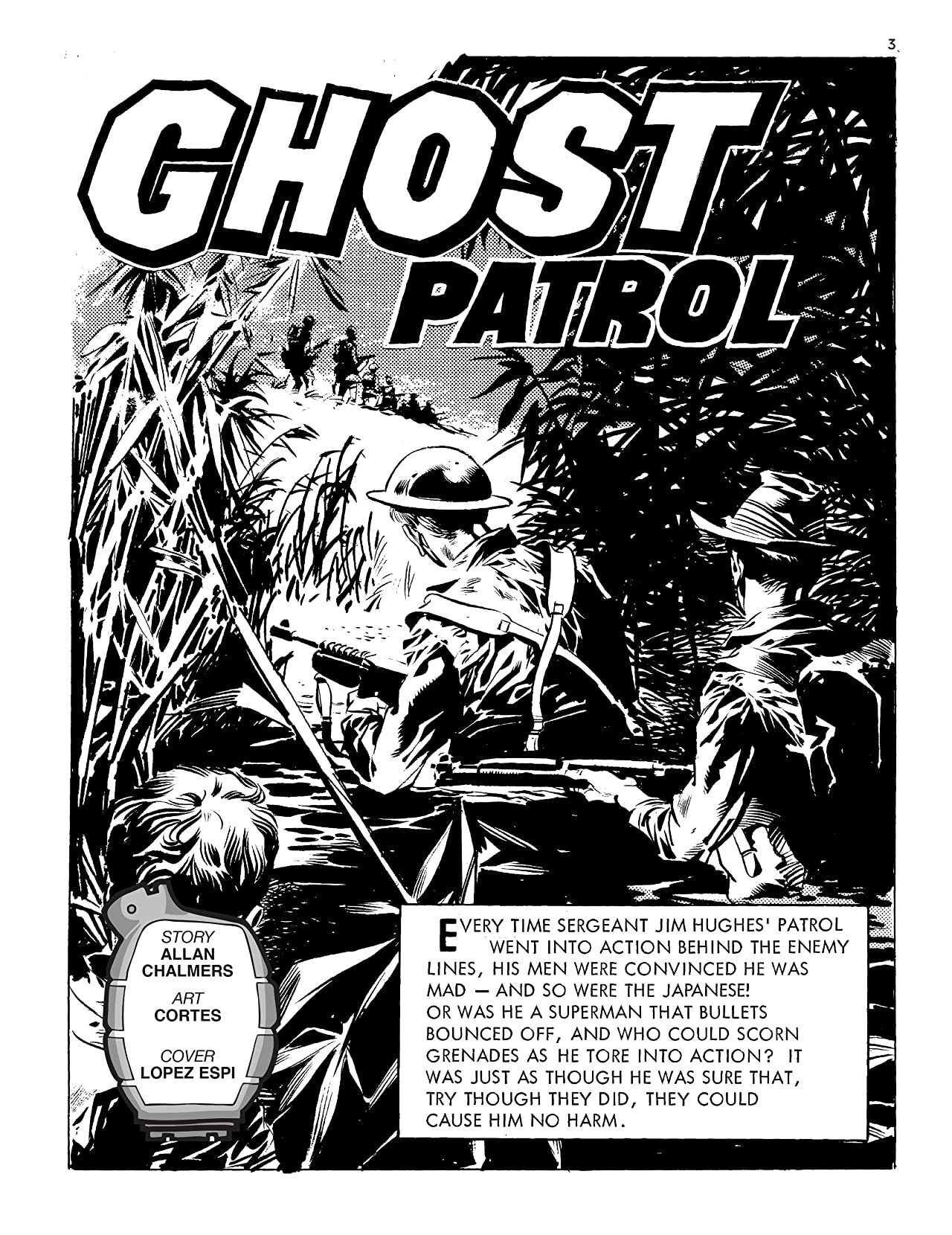 Commando #4999: Ghost Patrol