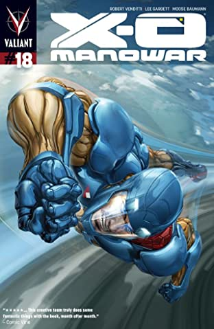X-O Manowar (2012- ) #18: Digital Exclusives Edition