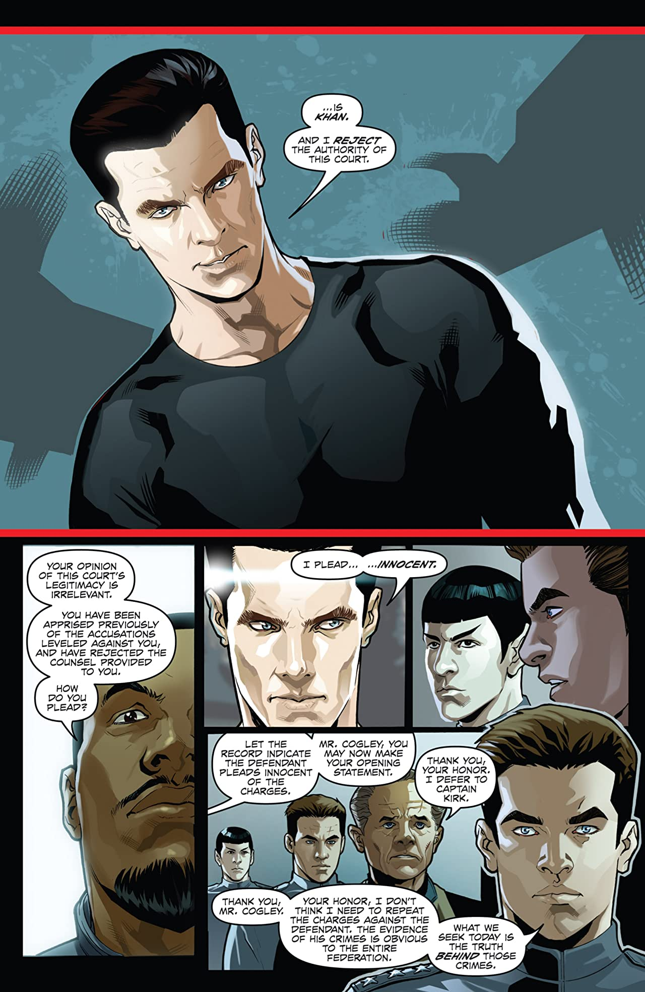 Star Trek: Khan #1 (of 5)