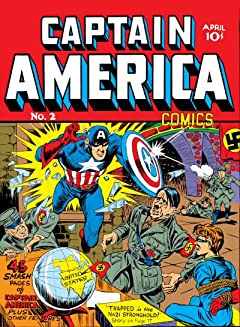 Captain America Comics (1941-1950) #2