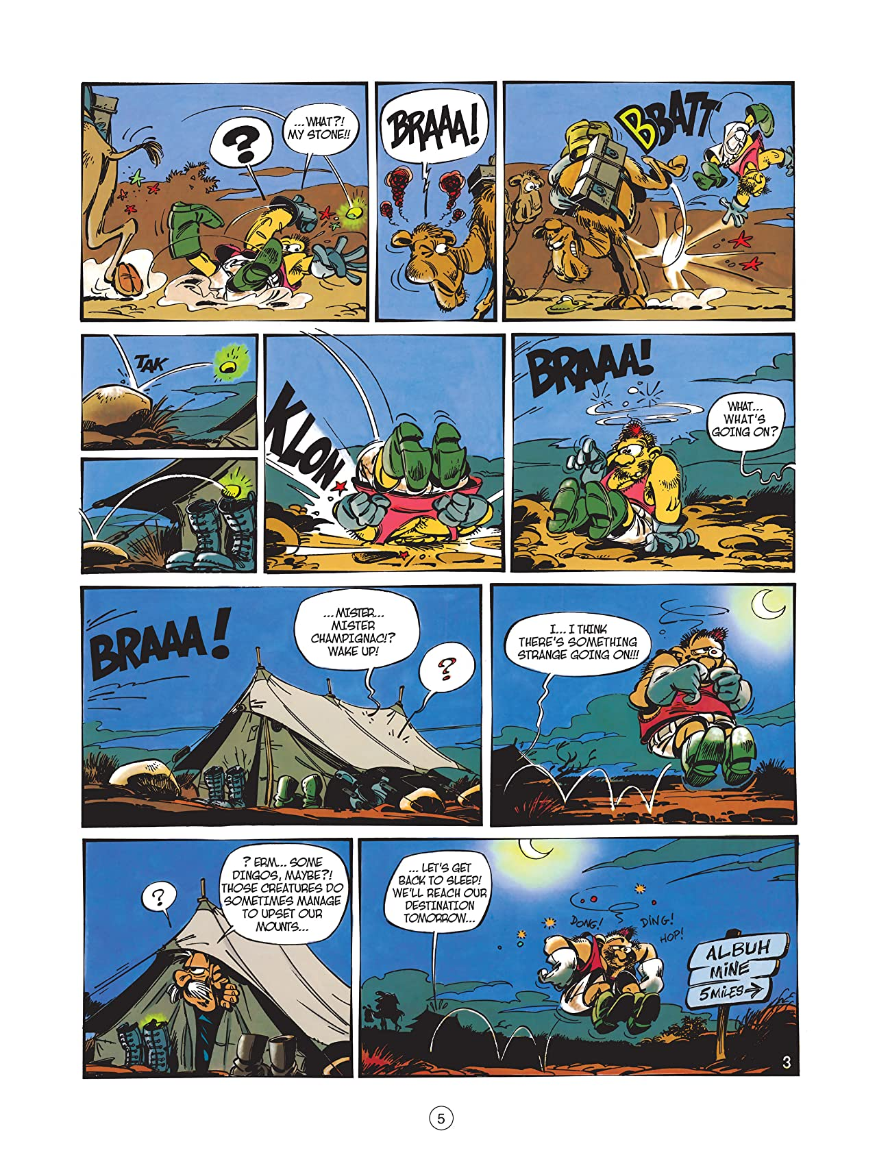 Spirou & Fantasio Vol. 1: Adventure Down Under