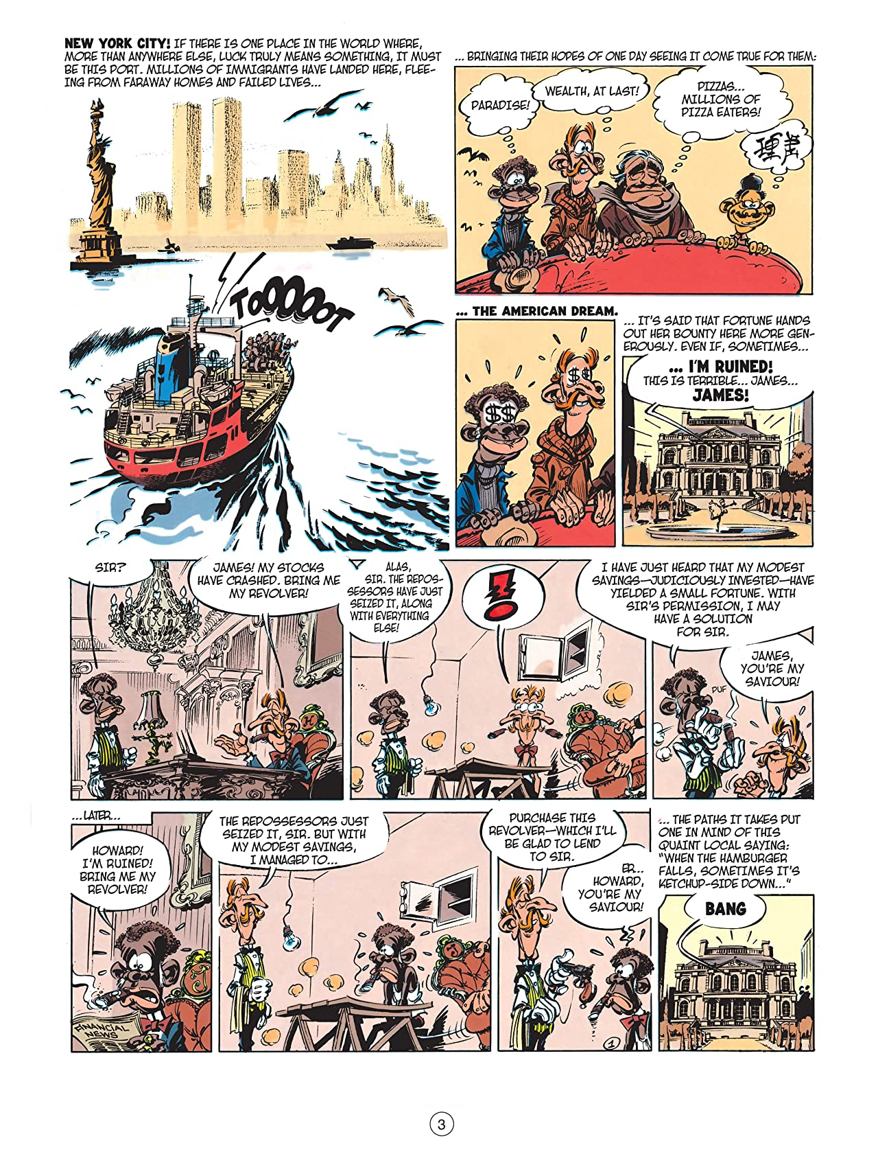 Spirou & Fantasio Vol. 2: In New York