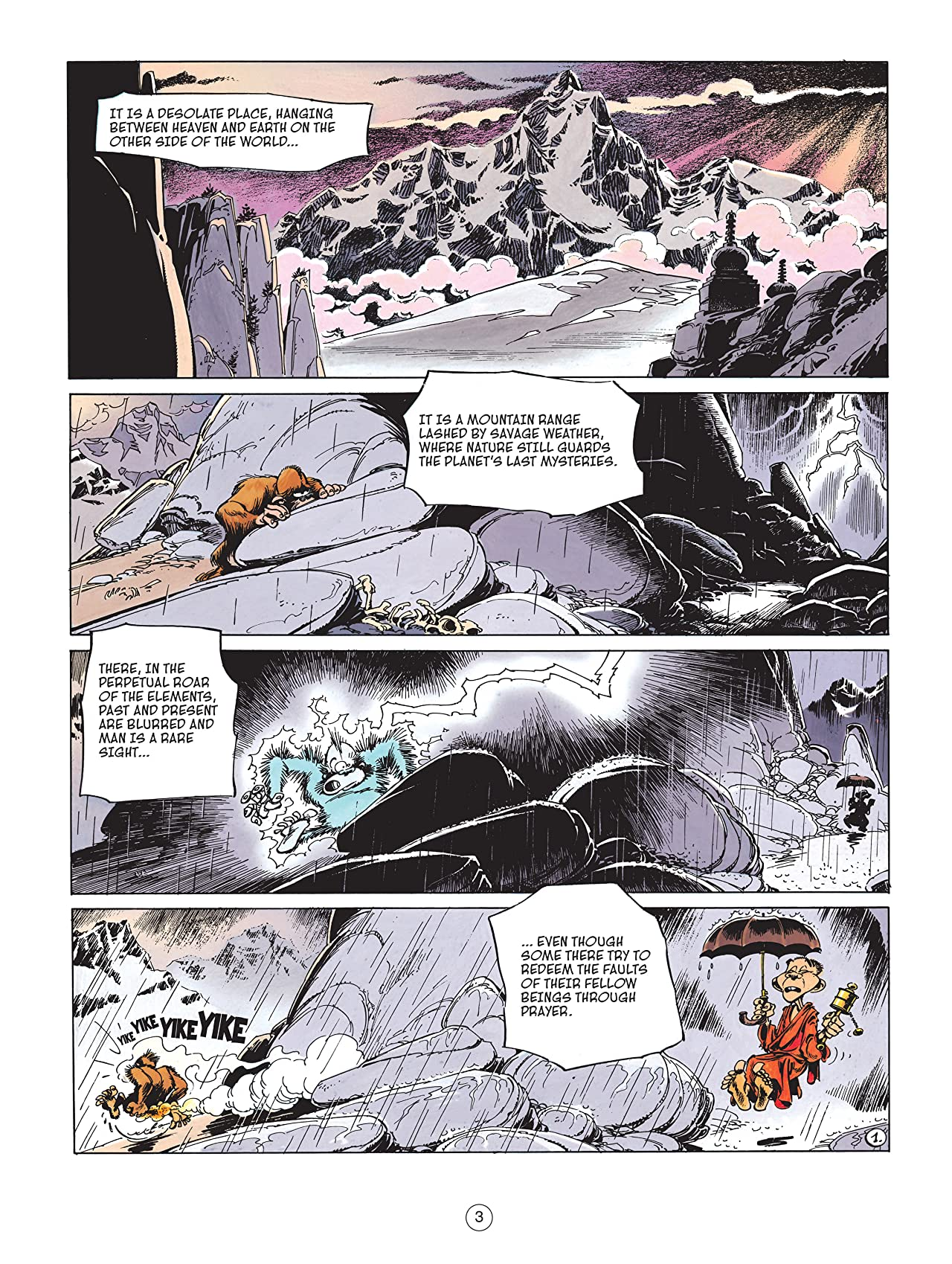 Spirou & Fantasio Vol. 4: Valley of the Exiles