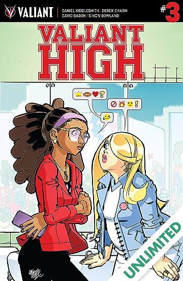 valiant high 3 of 4 comics by comixology