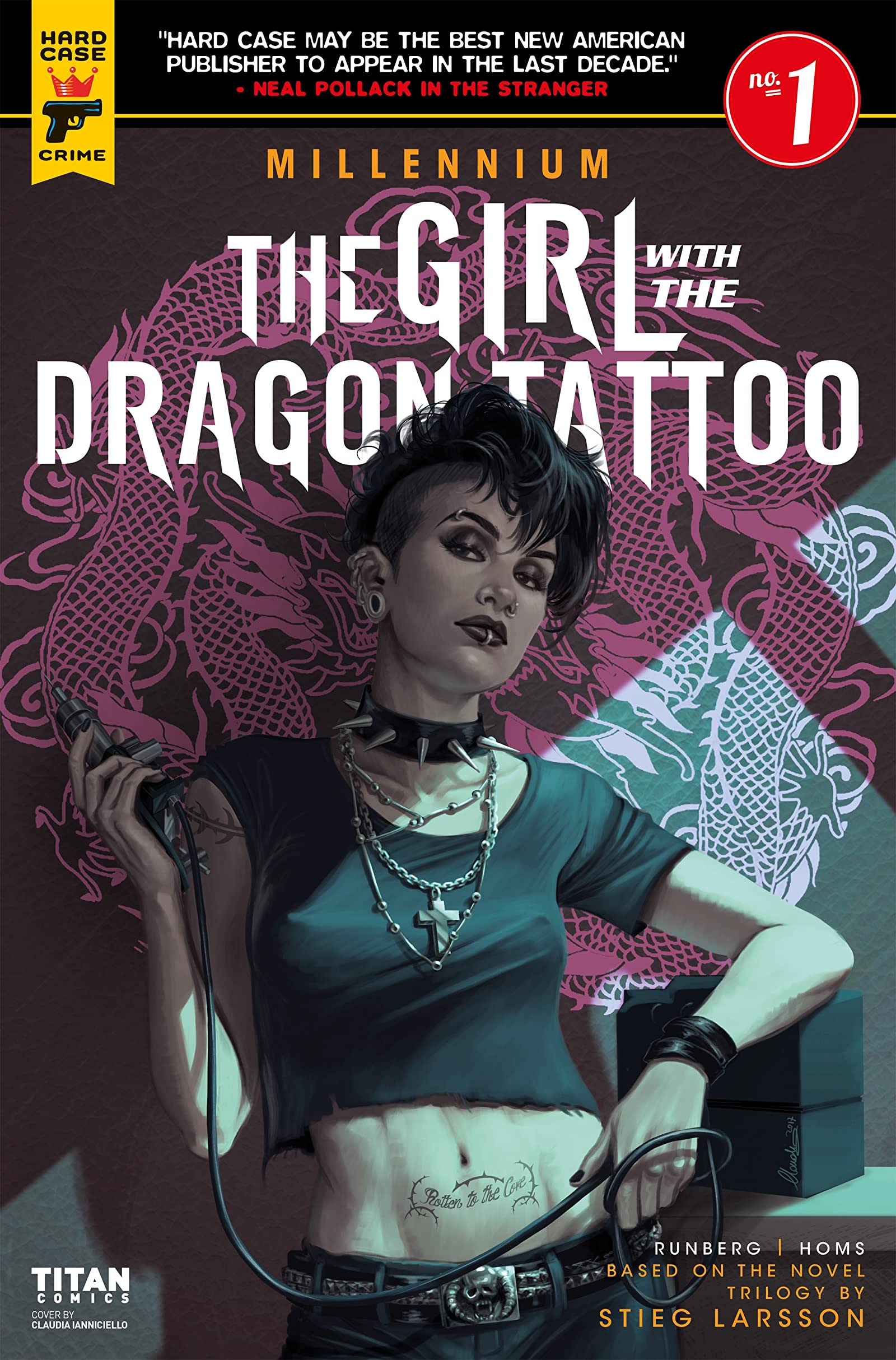 Millennium: The Girl with the Dragon Tattoo #1 - Comics by comiXology