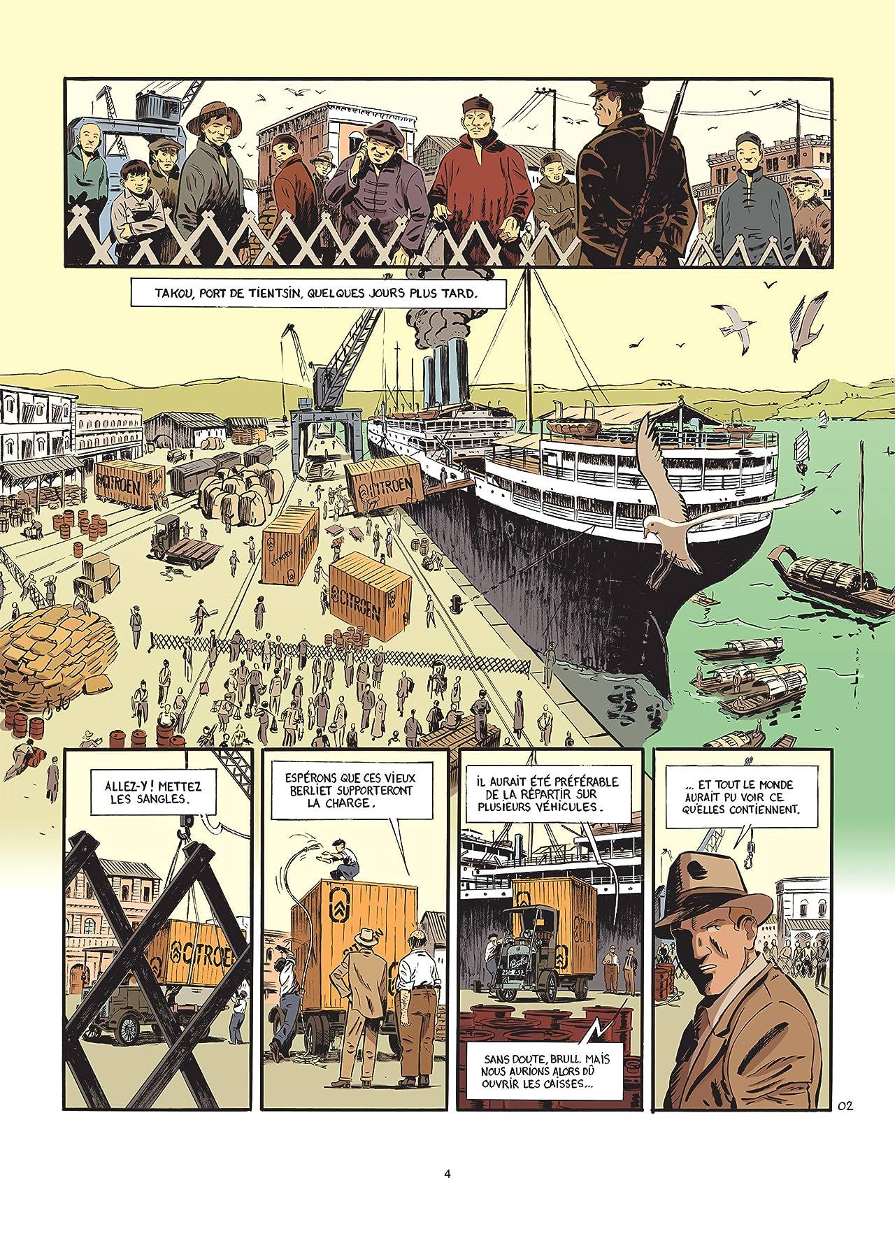 Le marin, l'actrice et la croisière jaune Vol. 2: Chemins de pierre
