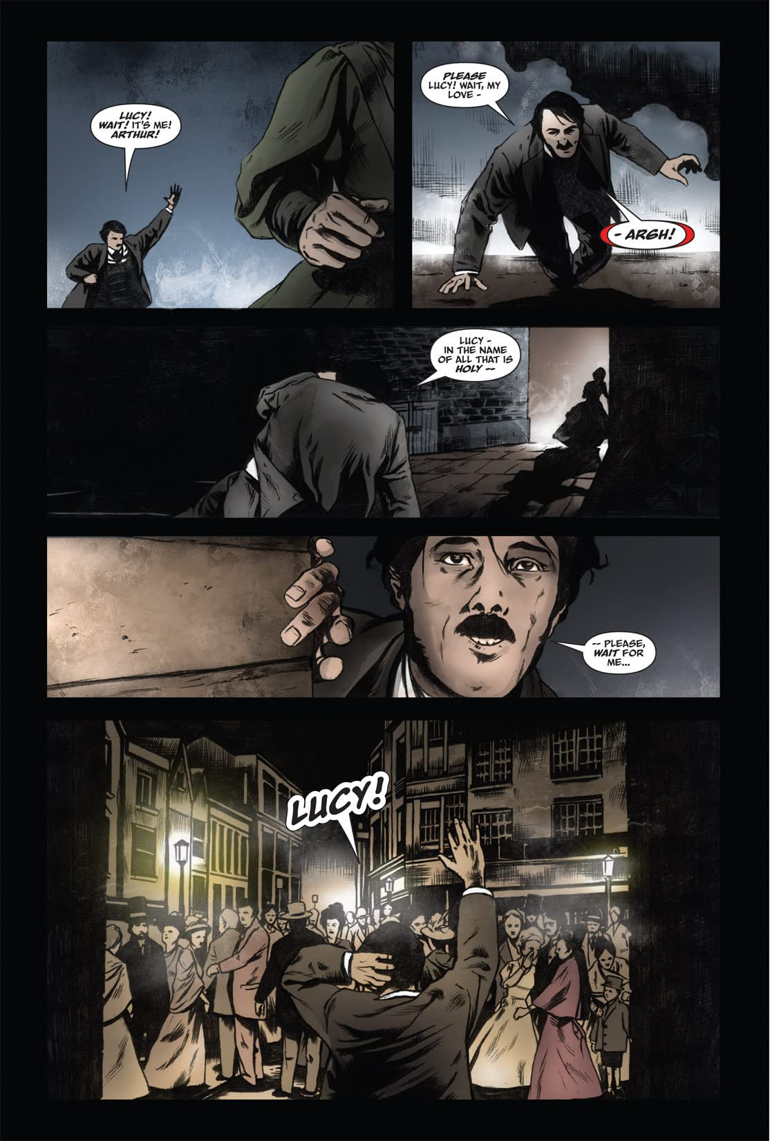 From the Pages of Bram Stoker's Dracula: Harker #2