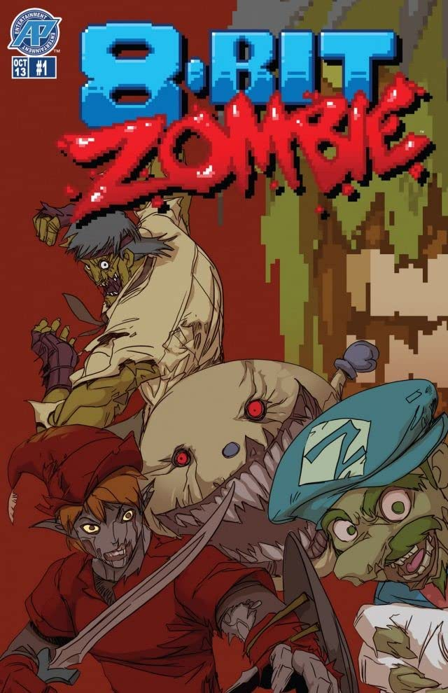 8-Bit Zombie #1