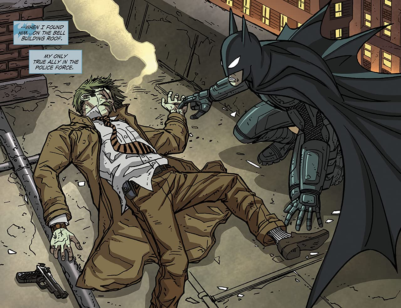 Legends of the Dark Knight (2012-2015) #72
