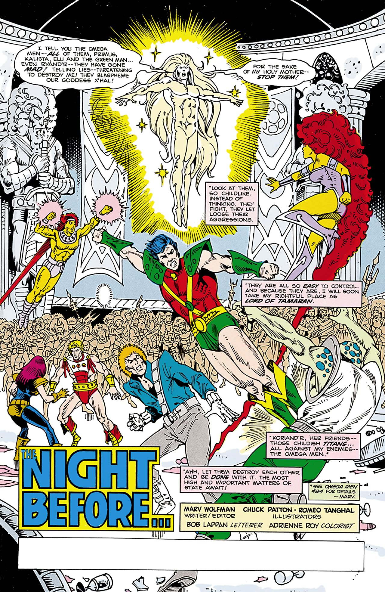 The New Teen Titans (1984-1996) #16