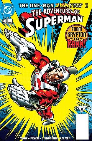 Adventures of Superman (1986-2006) No.570
