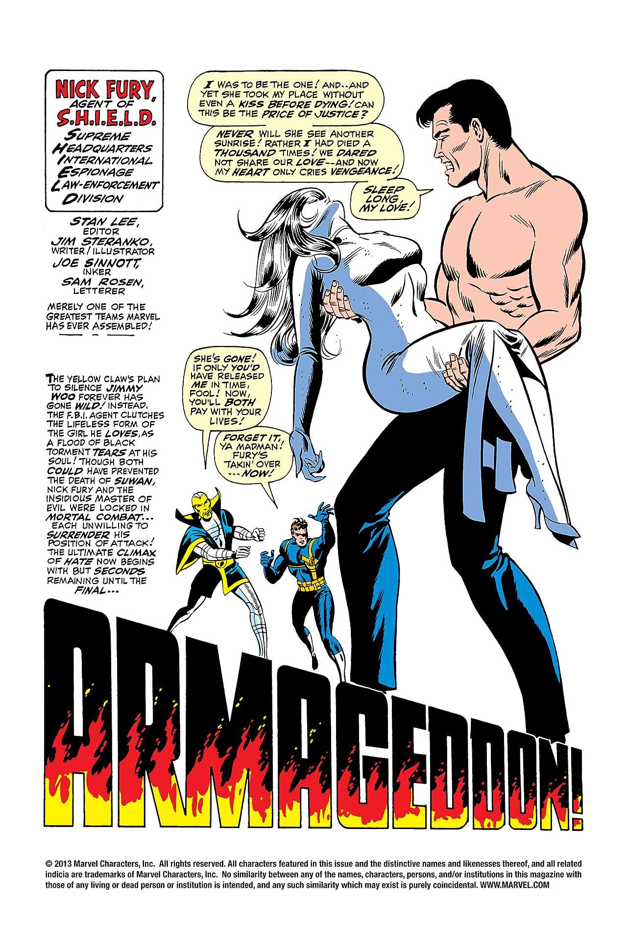 Strange Tales (1951-1968) #167