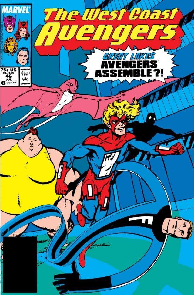 Avengers West Coast (1985-1994) #46