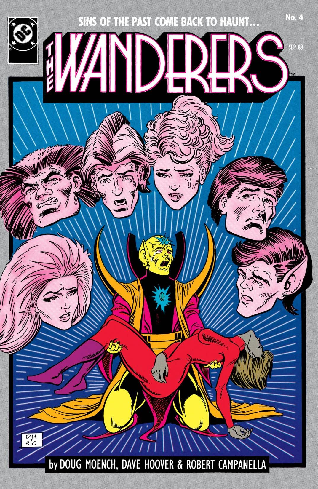 The Wanderers (1988-1989) #4