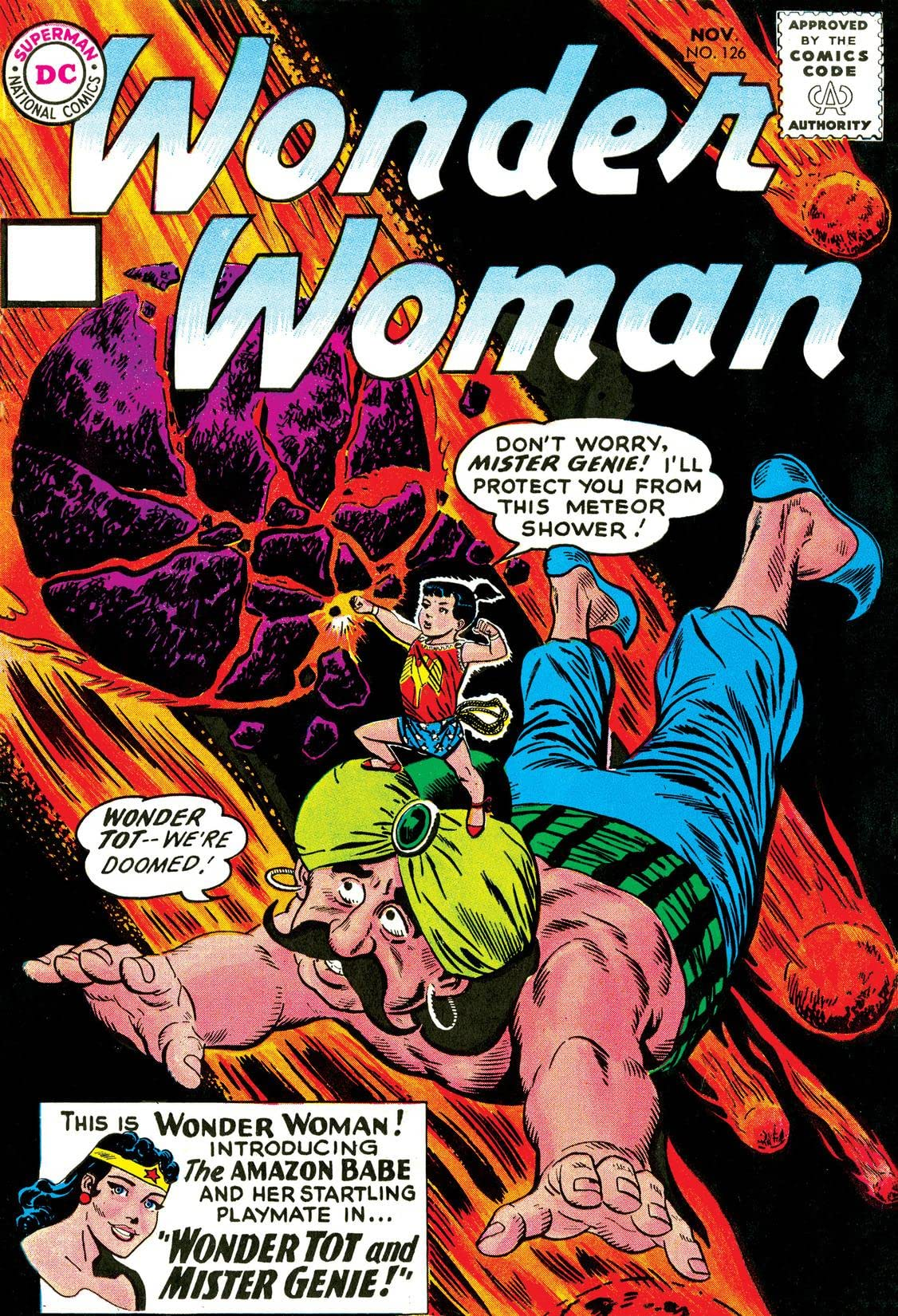 Wonder Woman (1942-1986) #126