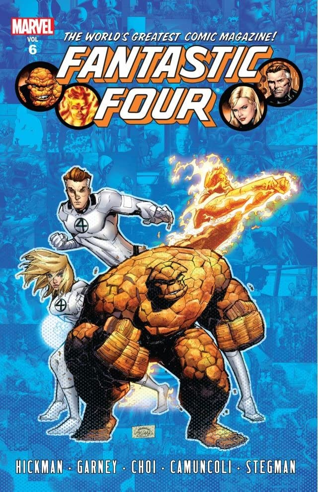 Fantastic Four By Jonathan Hickman Tome 6