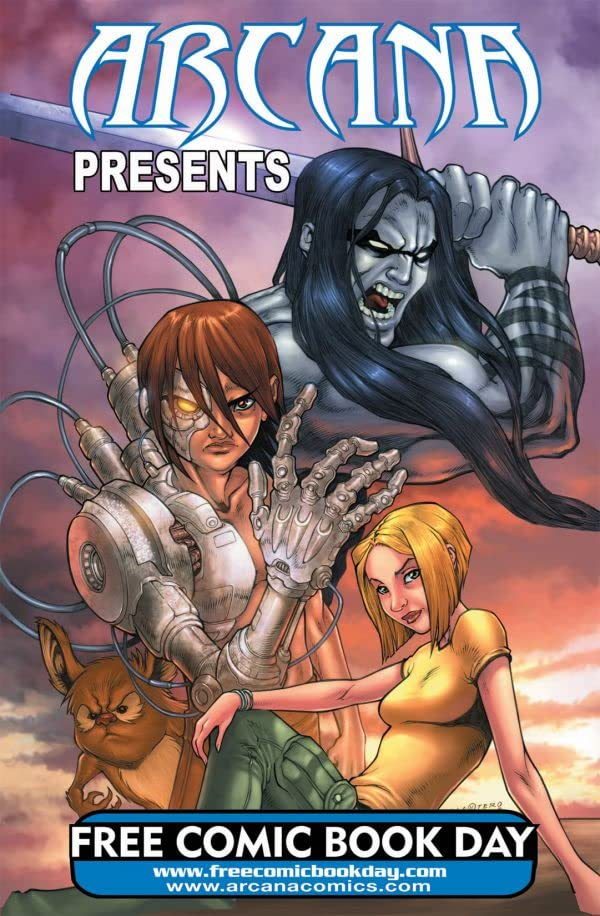 Arcana Studio Presents 2008 FCBD Ed