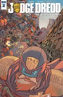 Judge Dredd: The Blessed Earth No.2