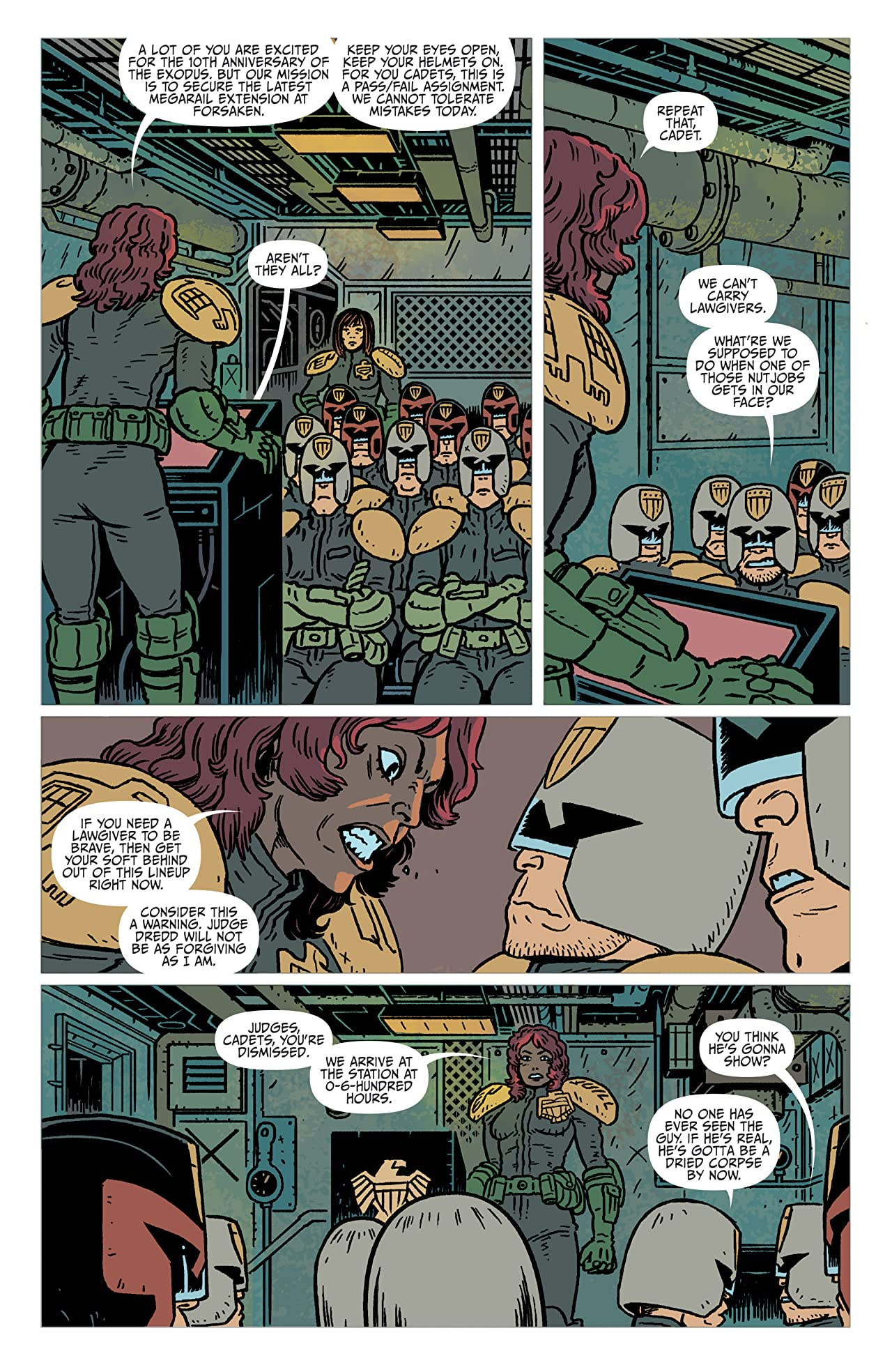 Judge Dredd: The Blessed Earth #2