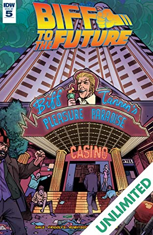 Back to the Future: Biff to the Future #5 (of 6)
