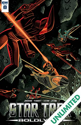 Star Trek: Boldly Go #8