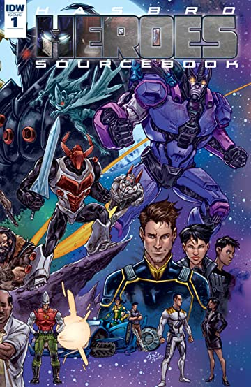 Hasbro Heroes Sourcebook #1 (of 3)