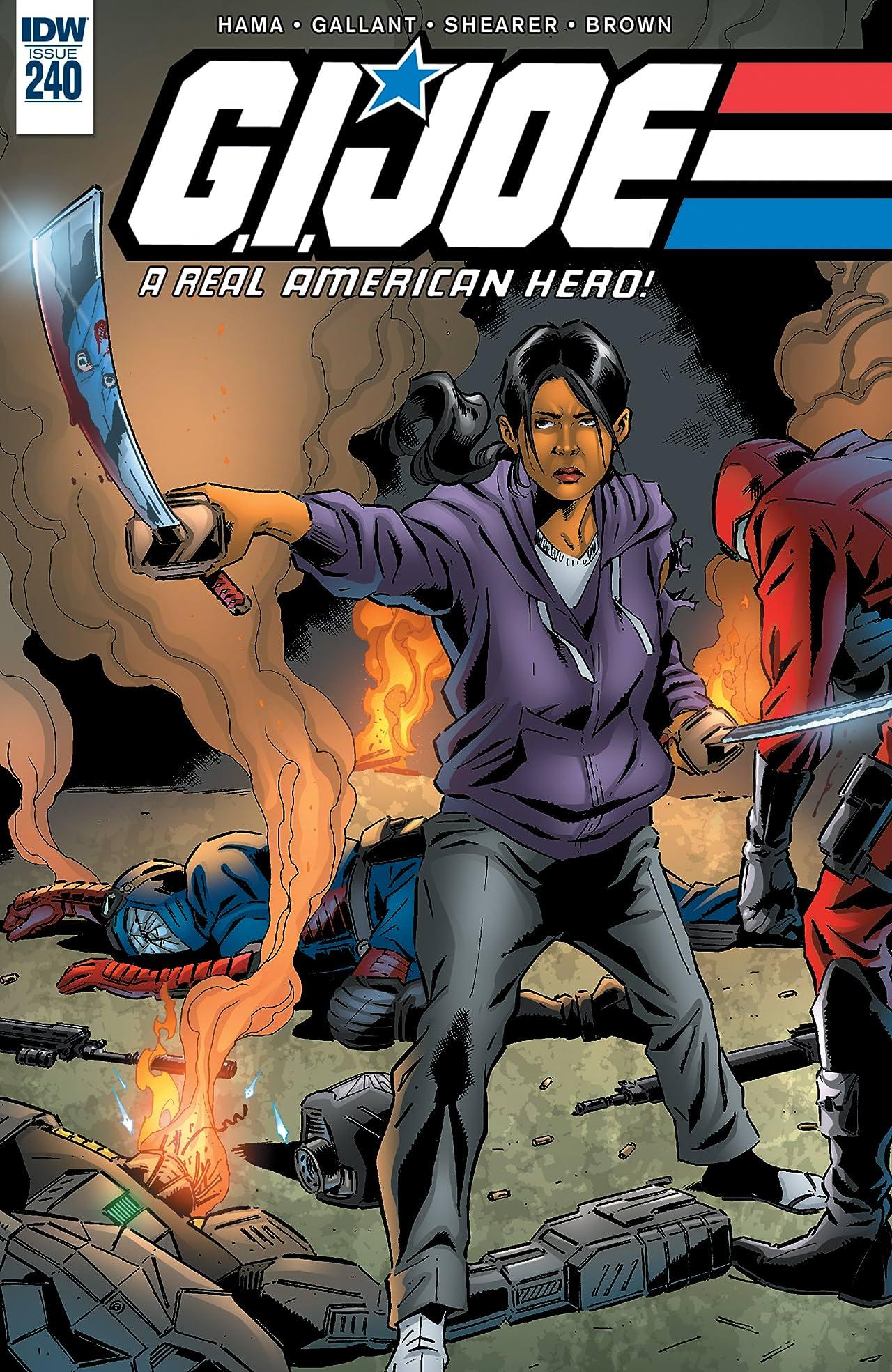 G.I. Joe: A Real American Hero #240