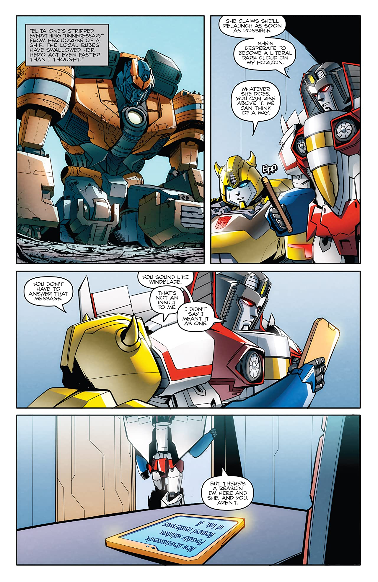 Transformers: Till All Are One #10