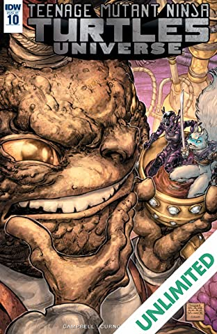 Teenage Mutant Ninja Turtles Universe #10