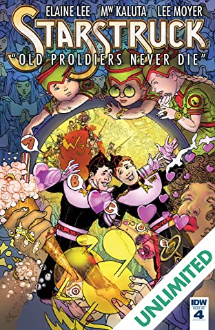 Starstruck: Old Proldiers Never Die #4 (of 6)