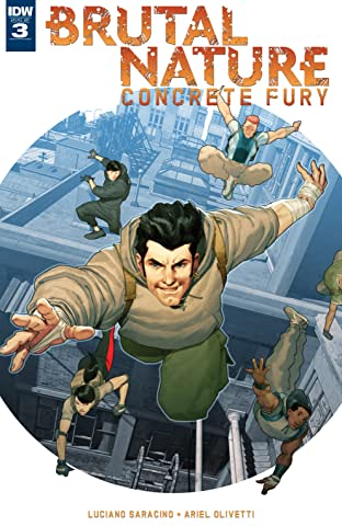 Brutal Nature: Concrete Fury #3 (of 5)