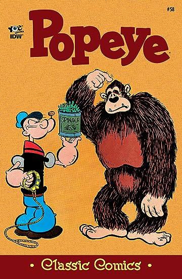 Popeye Classics #58