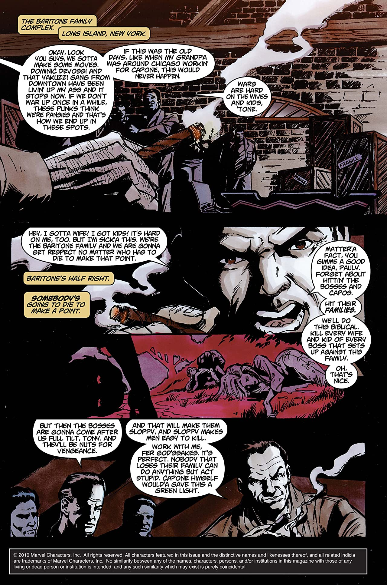 The Punisher (2001-2003) #8