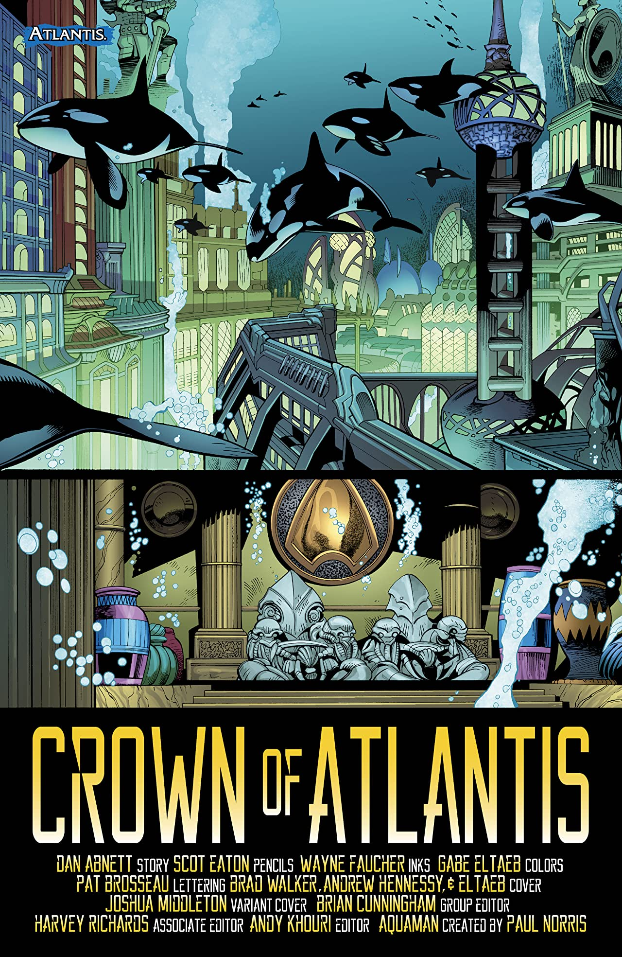 Aquaman (2016-) #23