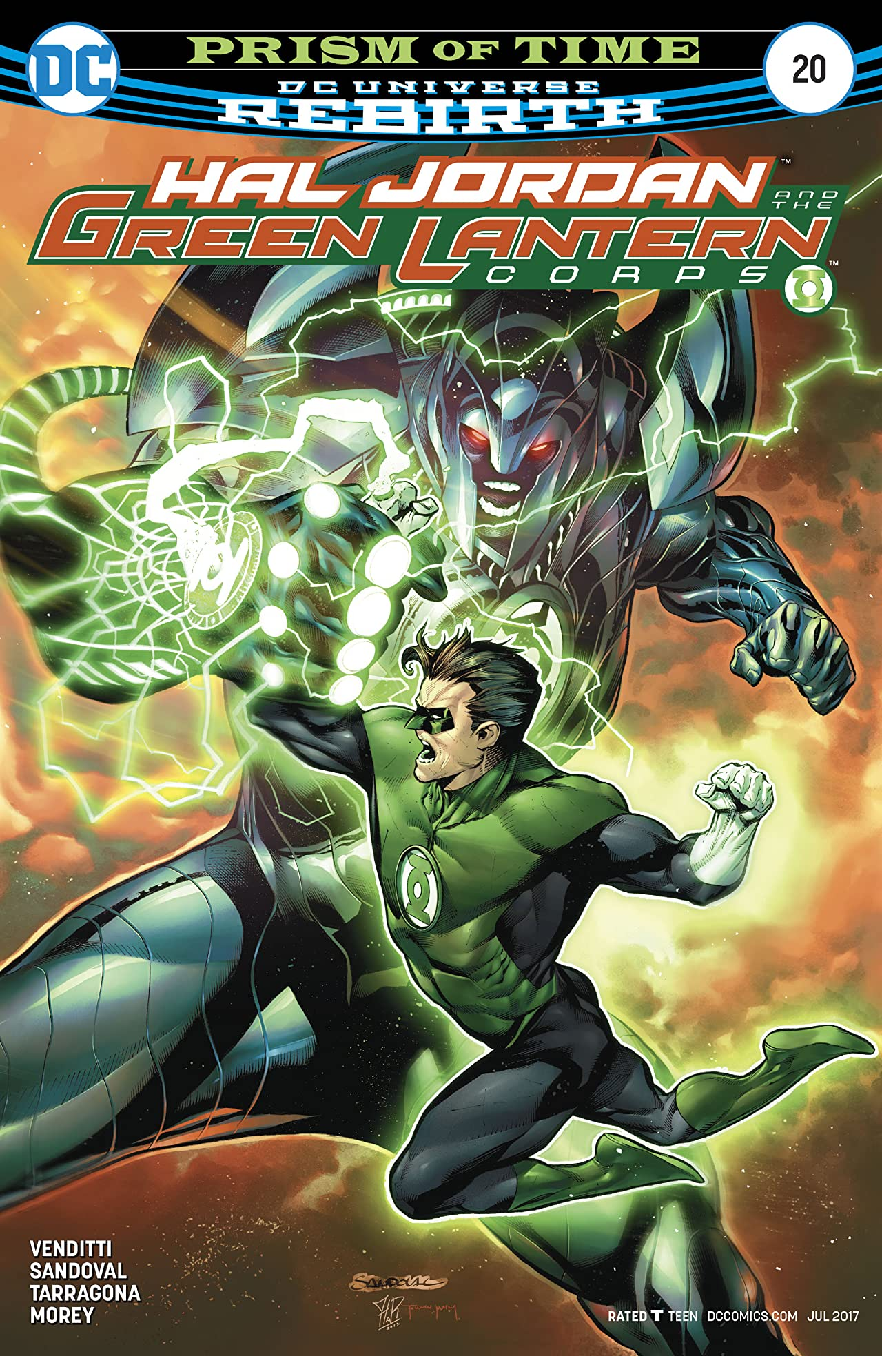 Hal Jordan and The Green Lantern Corps (2016-) #20