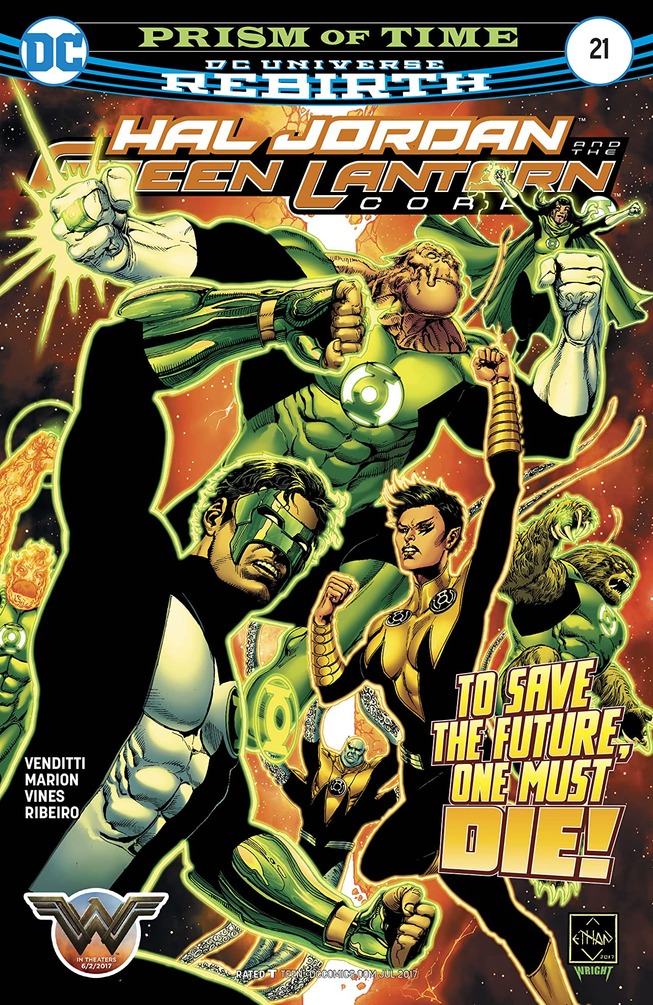 Hal Jordan and The Green Lantern Corps (2016-) #21