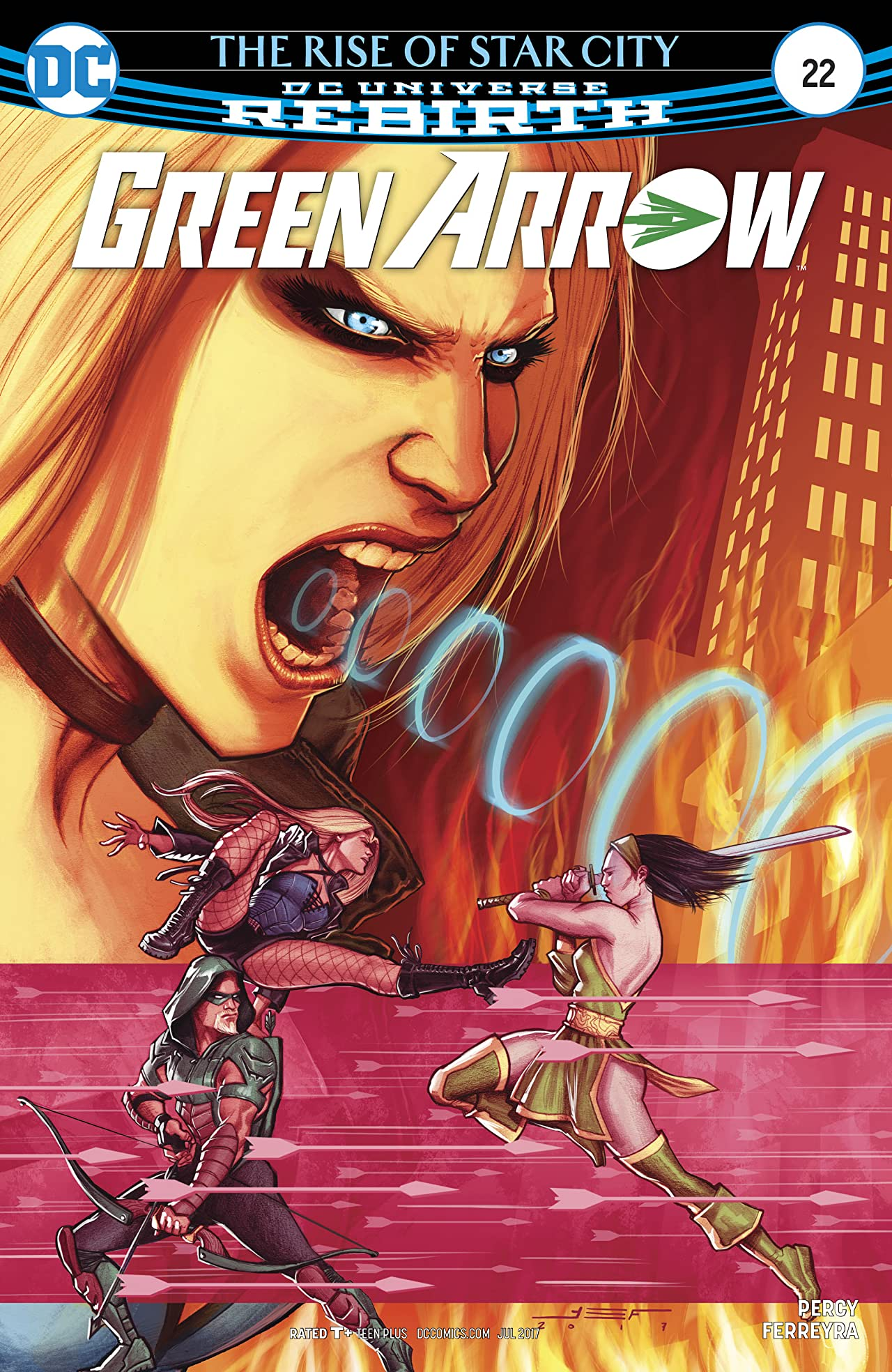 Green Arrow (2016-) #22