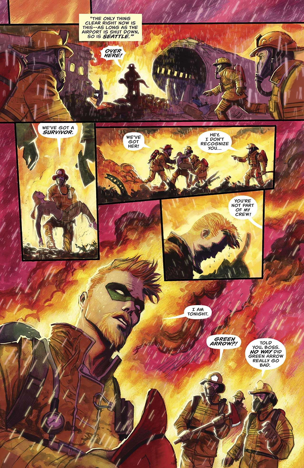 Green Arrow (2016-2019) #22