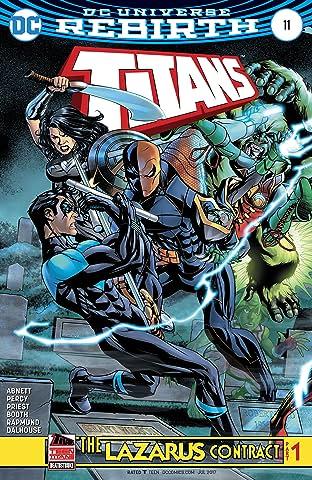 Titans (2016-2019) #11