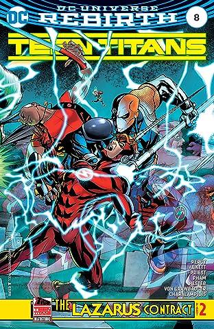 Teen Titans (2016-) #8