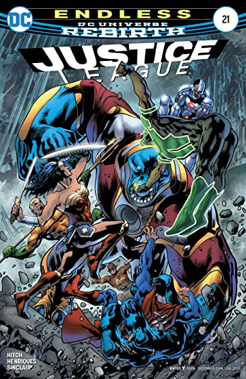 Justice League (2016-) No.21