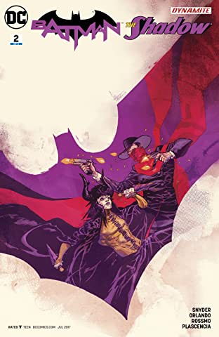 Batman/Shadow (2017-) #2