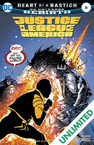 Justice League of America (2017-2018) #6