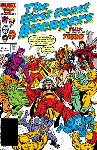 Avengers West Coast (1985-1994) No.15