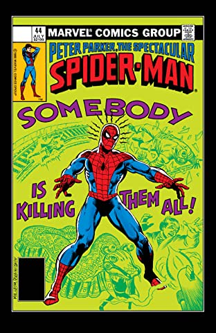 Peter Parker, The Spectacular Spider-Man (1976-1998) #44